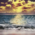 lua · oceano · lua · cheia · água · abstrato - foto stock © saddako2