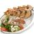 grilled salmon and shrimps stock photo © saddako2