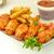 bbq · poulet · ailes · salade · barbecue · alimentaire - photo stock © saddako2