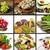 saláta · datolyaszilva · gyümölcsök · friss · diók · előétel - stock fotó © saddako2