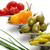 amarelo · pimenta · azeitonas · quente · verde · oliva - foto stock © saddako2