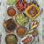 passas · de · uva · canela · vintage · superfície · madeira - foto stock © saddako2