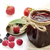 confiture · jar · framboises · framboise · fruits · verre - photo stock © saddako2