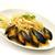 spagetti · főtt · fokhagyma · hagyma · petrezselyem · étel - stock fotó © saddako2