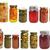 megőrzött · étel · zöldségek · hozzávalók · szett · kávé - stock fotó © saddako2