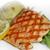 salmon with mashed potatoes stock photo © saddako2