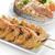 brócolis · prato · comida · ovo · pão - foto stock © saddako2