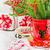 вечнозеленый · дерево · красный · Рождества · украшения · белый - Сток-фото © saharosa
