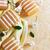 баров · мыло · цветочный · аромат · желтый - Сток-фото © saharosa