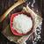 superior · vista · cuchara · de · madera · completo · blanco · aislado - foto stock © saharosa