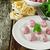 豚肉 · 野菜 · ソース · プレート · 肉 - ストックフォト © saharosa