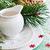 bağbozumu · Noel · süslemeleri · tablo · beyaz - stok fotoğraf © saharosa