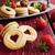 heerlijk · zoete · Valentijn · cookies · glas · kom - stockfoto © saharosa