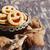 keksz · lekvár · karácsony · édes · piros · tömés - stock fotó © saharosa