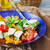 apetitoso · queijo · cozinha · italiana · manjericão - foto stock © saharosa
