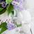 friss · virágcsokor · orgona · öreg · váza · fa · asztal - stock fotó © saharosa