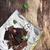cioccolato · menta · foglie · vecchio · legno · messa · a · fuoco · selettiva - foto d'archivio © saharosa