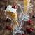caseiro · hortelã-pimenta · sorvete · fresco · cerejas · waffle - foto stock © saharosa