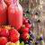 üveg · üveg · friss · nyár · bogyók · smoothie - stock fotó © saharosa