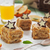 piezas · pastel · de · manzana · chocolate · estrellas · zumo · de · manzana · pergamino - foto stock © saharosa
