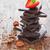 cioccolato · nocciola · fresche · fragole · vecchio · legno - foto d'archivio © saharosa
