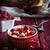 eigengemaakt · natuurlijke · ontbijt · aardbeien · amandelen - stockfoto © saharosa