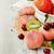 ahşap · yeşil · sebze · meyve · yalıtılmış - stok fotoğraf © saharosa