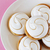 guimauve · cookies · plaque · rose · sweet · table - photo stock © saharosa