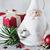 декоративный · Дед · Мороз · Рождества · игрушками · белый - Сток-фото © saharosa
