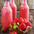 strawberry smoothie in a bottle stock photo © saharosa