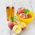 pêssegos · comida · fundo · espaço · grupo · mercado - foto stock © saharosa