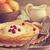 palacsinták · bogyók · házi · készítésű · tejföl · étcsokoládé · cukor - stock fotó © saharosa