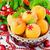 arancione · Natale · decorazioni · ramo · impiccagione · pino - foto d'archivio © saharosa