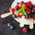frozen berries on a stick stock photo © saharosa