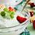 vanilya · dondurma · nane · çanak · organik · ürün - stok fotoğraf © saharosa