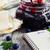 homemade blueberry jam stock photo © saharosa