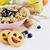 мюсли · фрукты · Ягоды · белый · здорового · завтрак - Сток-фото © saharosa