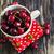 сочный · рубин · красный · вишни · зеленый · Кубок - Сток-фото © saharosa