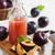 fraîches · juteuse · organique · prune · feuille · verte · isolé - photo stock © saharosa