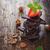 cioccolato · nocciola · fresche · fragole · vecchio · tavolo · in · legno - foto d'archivio © saharosa