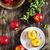 ripe juicy nectarines stock photo © saharosa