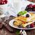 vers · gebakken · zoete · bessen · jam · tabel - stockfoto © saharosa