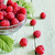 ripe juicy raspberries stock photo © saharosa