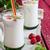 ev · yapımı · yoğurt · malzemeler · siyah · yaz · tablo - stok fotoğraf © saharosa