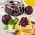 frutas · caliente · placa · naranja · de · sangre · arándano - foto stock © saharosa