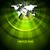 vállalati · brosúra · terv · zöld · világtérkép · fehér - stock fotó © saicle