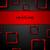 vermelho · preto · contraste · tecnologia · abstrato - foto stock © saicle