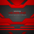 abstract red black tech layout concept background stock photo © saicle