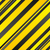 abstract yellow and black stripes background stock photo © saicle