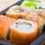sushi · hizmet · zencefil · wasabi · gıda - stok fotoğraf © sailorr